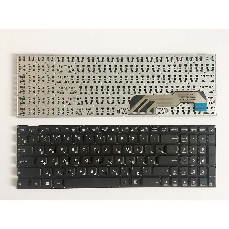 NEW Russian keyboard for Asus X541 X541U X541UA X541UV X541S X541SC X541SC X541SA RU laptop black keyboard