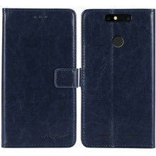 TienJueShi Premium Protection Leather Cover Phone Case For ZTE Blade V8 mini Nubia M2 lite TPU Silicone Shell Wallet Etui Skin(China)
