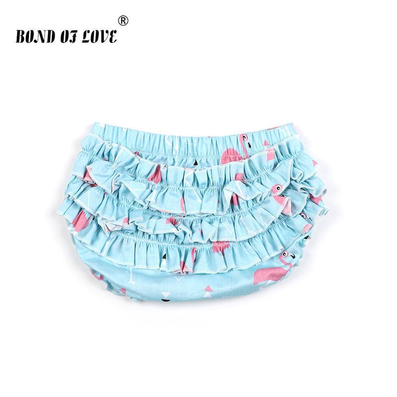 Infant Baby Pants Bloomers Girl Shorts Diaper Nappy Cover Trousers Bottoms 0-12M