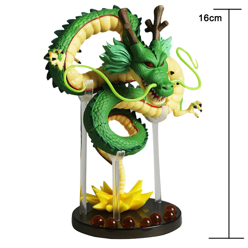 Japanese Anime Collectible Model Dragon Ball Z Porunga ShenRon ShenLong PVC Action Figure Doll Kids Toy Gift Boys Brinquedos In Figures From