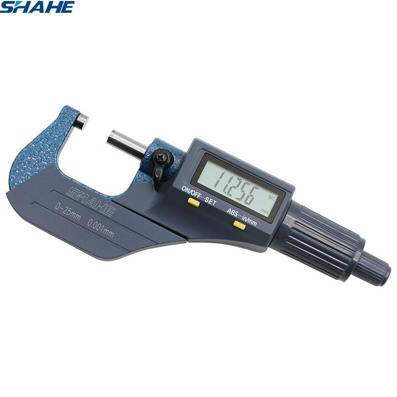 Electronic Measuring Instruments : Digital microcaliper micrometer caliper shahe measuring