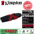 Kingston Hyperx selvagem usb 3.0 3.1 flash pen drive 256 gb 512 gb pendrive cle usb chiavetta usb presente memória