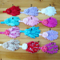 12colors baby feather hairband  hair accessories with elastic hiarband-11