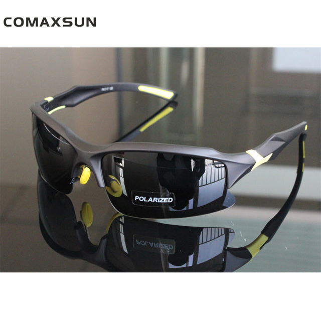 a757b35ba38 COMAXSUN Professional Polarized Cycling Glasses Bike Bicycle Goggles  Driving Fishing Outdoor Sports Sunglasses UV 400 Tr90