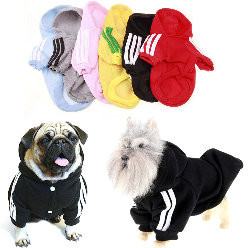HEYPET Winter Dog Clothes Warm for Dogs Coat Hoodie Jacket Cotton Ropa Perro French Bulldog Golden for Chihuahua Pets Clothing Ocean & Earth