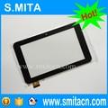 Original Nuevo 7 Pulgadas Capacitiva Reemplazo de Cristal Digitalizador para Tablet PC Ventana N70 Dual Core PB70DR8069 ZP9015-7 Pantalla Táctil
