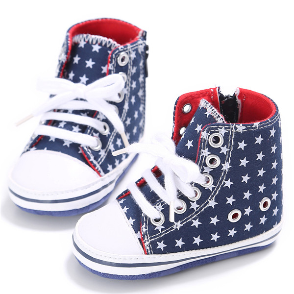 Aliexpress Com Buy New Classic Infants Breathable High Top Canvas