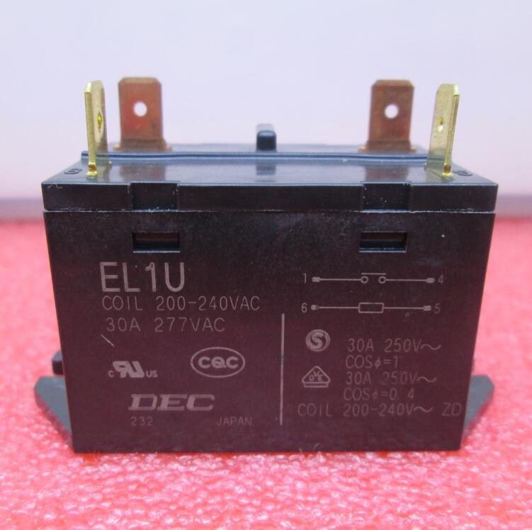 NEW Air conditioning compressor contactor 200V 240V relay EL1U 30A 250VAC 277VAC 200VAC 240VAC