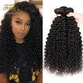 Бразильский Вьющиеся Девственные Волосы Афро Кудрявый Вьющиеся Грейс Компания Волос Продукты 7А Brazillian Странный Вьющиеся Волосы Девственницы Дешевые Человеческих Волос
