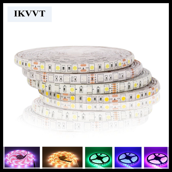 rgb led strip 10 m warm/cool white blue red green multicolors waterproof for indoor led decoration light free shipping