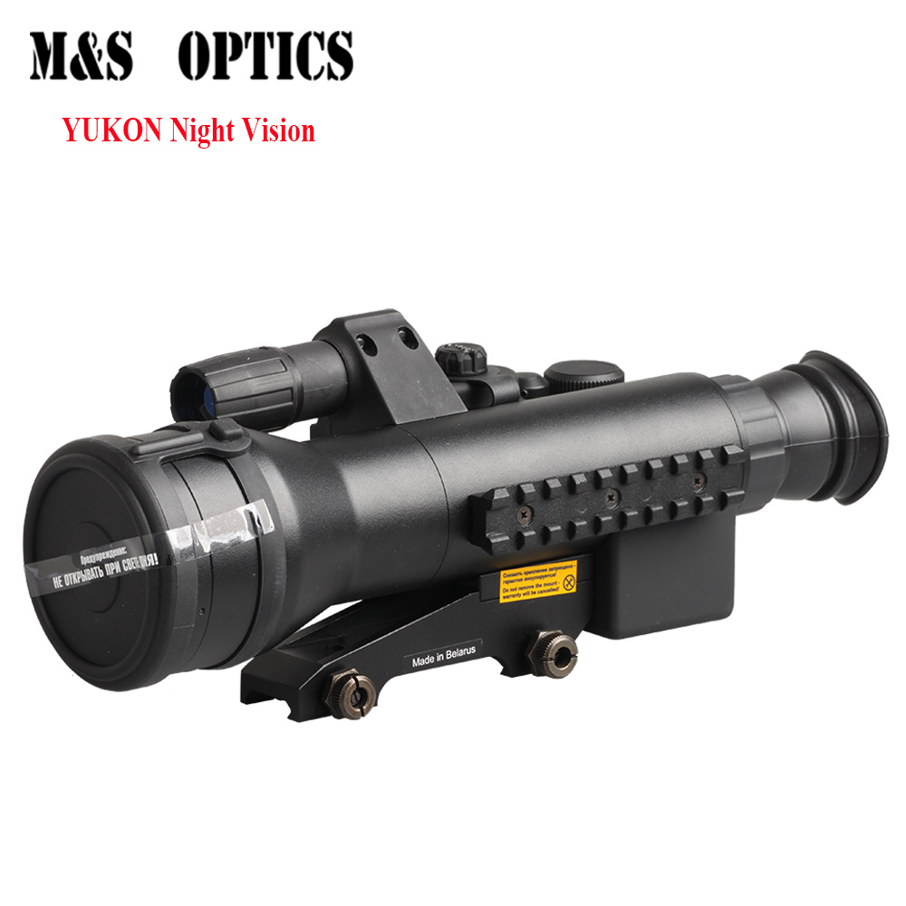 YUKON Sentinel 3x60 Night vision Monocular Single Transmitter Nightvision Optical Sight Rifle scope Gen.1 #26016T