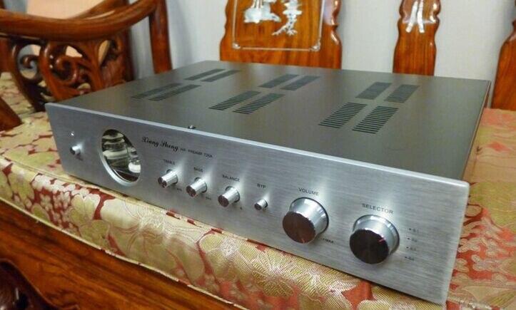 Version améliorée aigus/graves Tuning Marantz 7 12AU7 tube à vide préamplificateur Tube préamplificateur stéréo HiFi processeur Audio A +