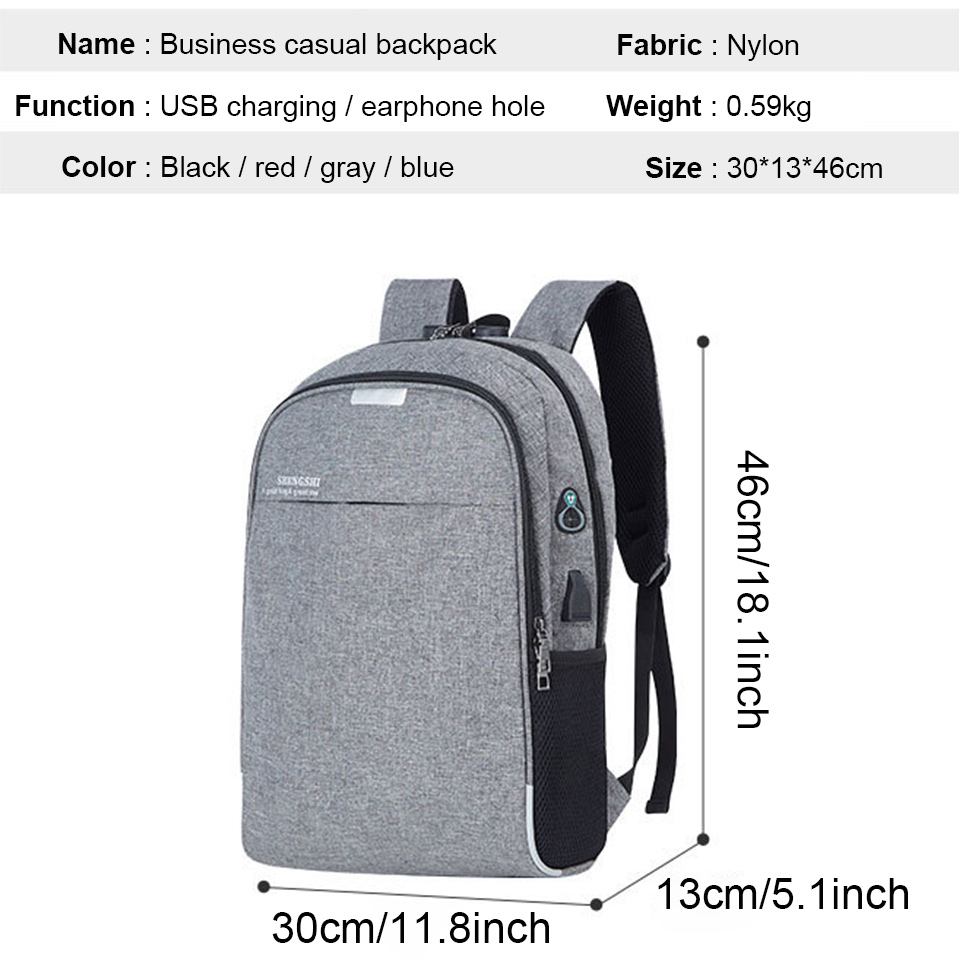 Anti Theft Backpack Men Backpacks Laptop 15.6 Inch Male Female Backpacking USB Charging Student Boy Notebook Bagpack Travel Bags