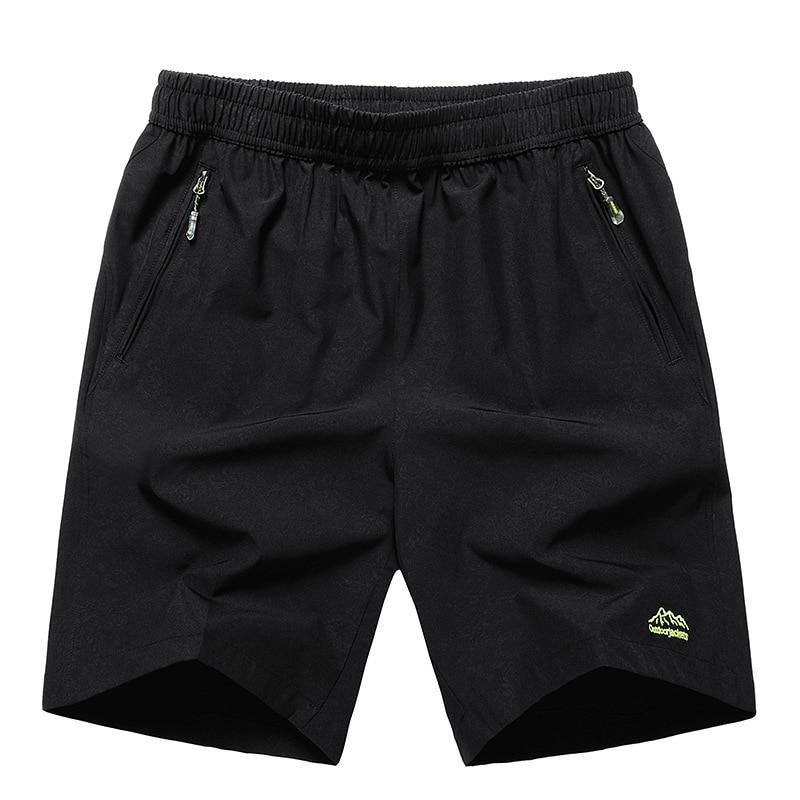 Men Shorts 10XL 8XL Trousers Elastic-Waist Quick-Drying Big-Size Summer Casual 9XL New