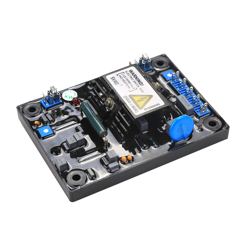 Automatic Voltage Regulator AVR SX460 for Generator New High Quality Black+blue capacitor fast shipping