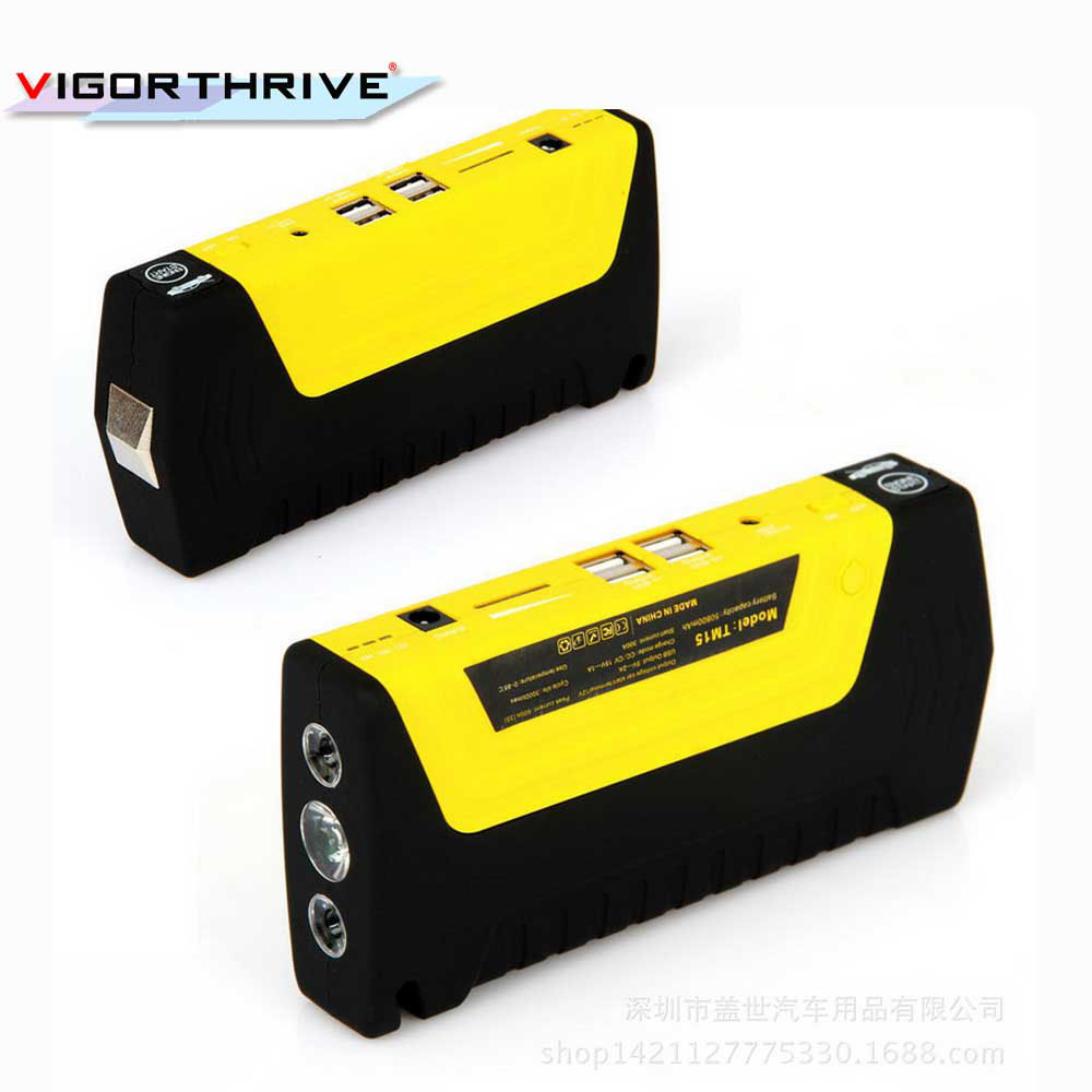 Free shipping car jump starter car booster car power bank 10000 mAh power multi function hot sell