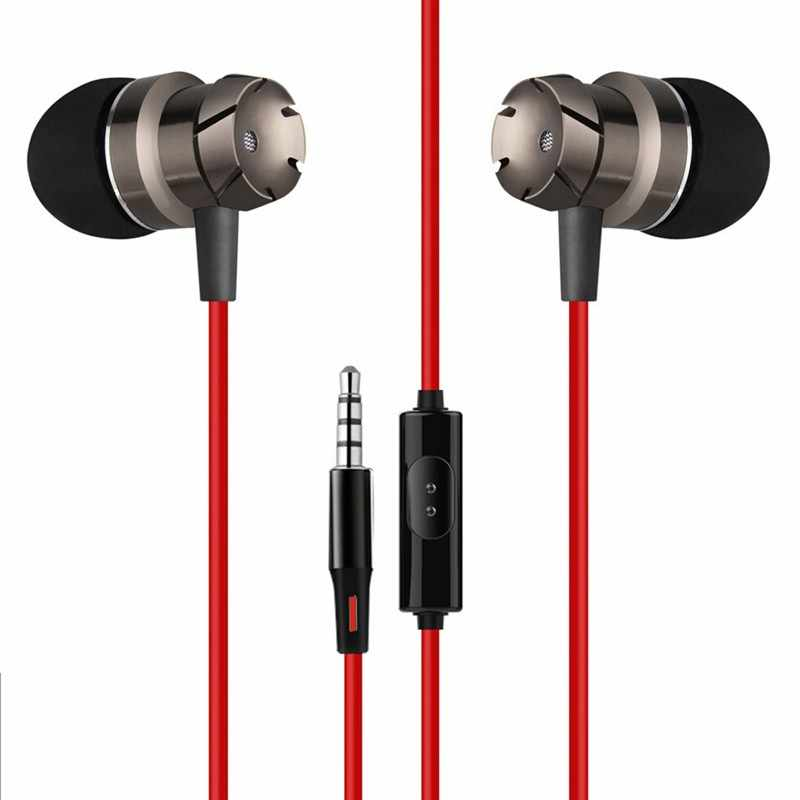 בס סטריאו מתכת HIFI באוזן אוזניות עבור Asus ZenFone חי (L1) ZA550KL ספורט מוסיקה אפרכסת עם מיקרופון אוזניות fone דה ouvido