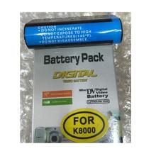 KLIC-8000 KLIC8000 Digital Camera Battery DB50 lithium batteries pack K8000 For Kodak ZX1 ZXD Z612 Z812 Z1012 Z1015 Z1085 Z1485