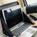Los titulares de escritorio plegable del ordenador portátil del coche de montaña coche multifuncional caja de almacenamiento de bolsa de la compra