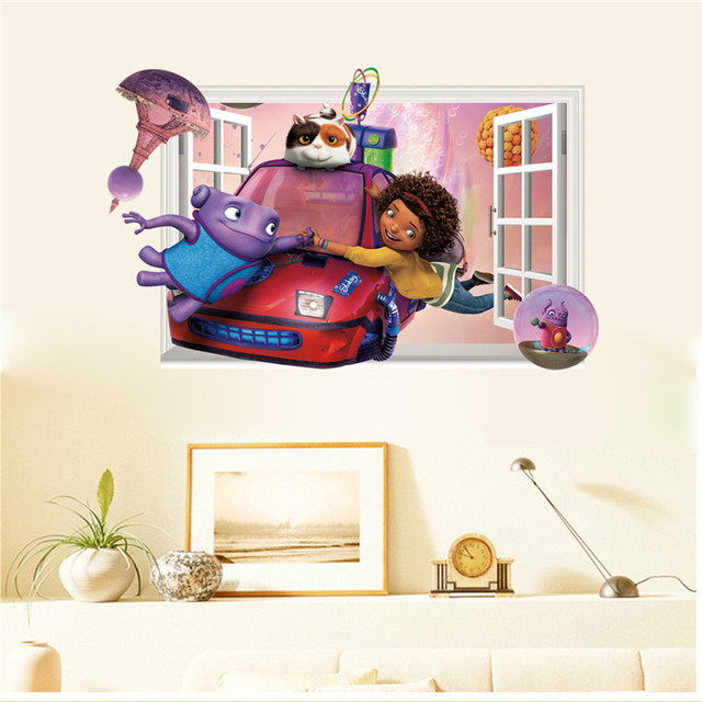 Charmant Latest Cartoon Party Cute Movie Home Boov Wall Sticker For Kids Room Home  Decor