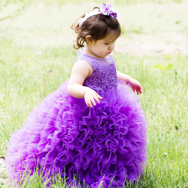 Aliexpress.com : Buy customised size purple ball gown dresses for ...