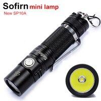 Presell Sofirn New SP10A Mini Portable Led Flashlight EDC Pocket Light Cree XP G2 Portable Keychain