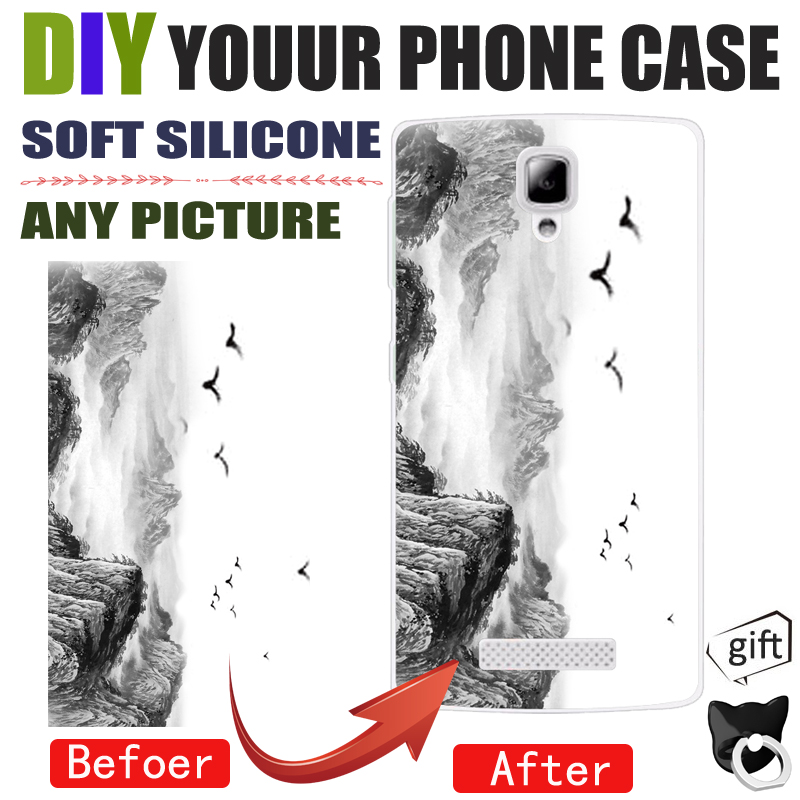 DIY Photo Images Customize Phone Case Cover For Lenovo A5000 A2010 A1000  Vibe C B A1010 A2020 C2
