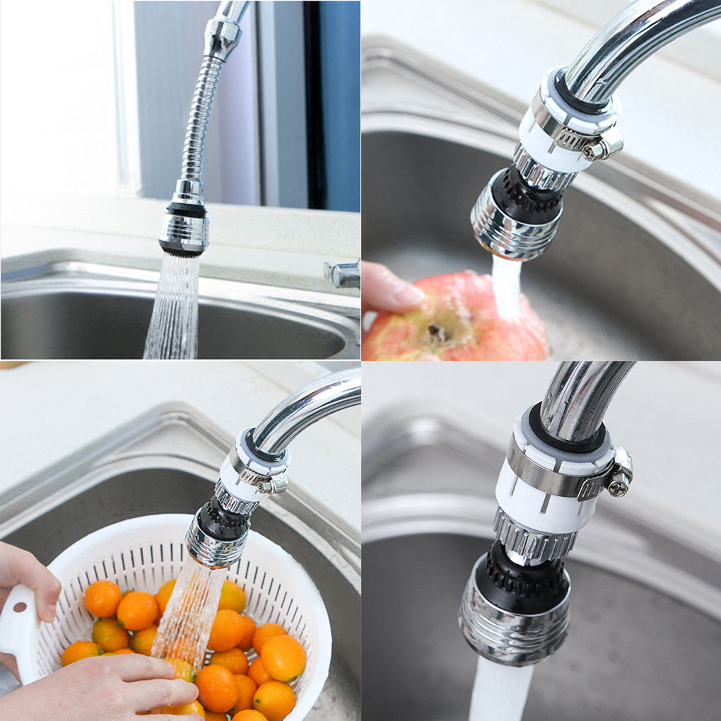 1pcs 360 Degree Rotation Faucet Filter Nozzle Water Saver Tap For Bathroom Faucet Accessory Shower Head Nozzle Tap Connector