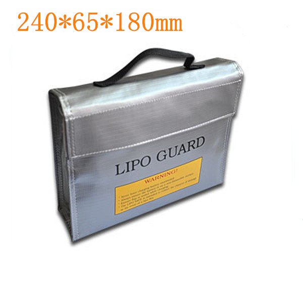 RC LiPo Battery Safety Bag Safe Guard Charge Sack Fireproof Explosionproof Pouch Protection bags F16390/92