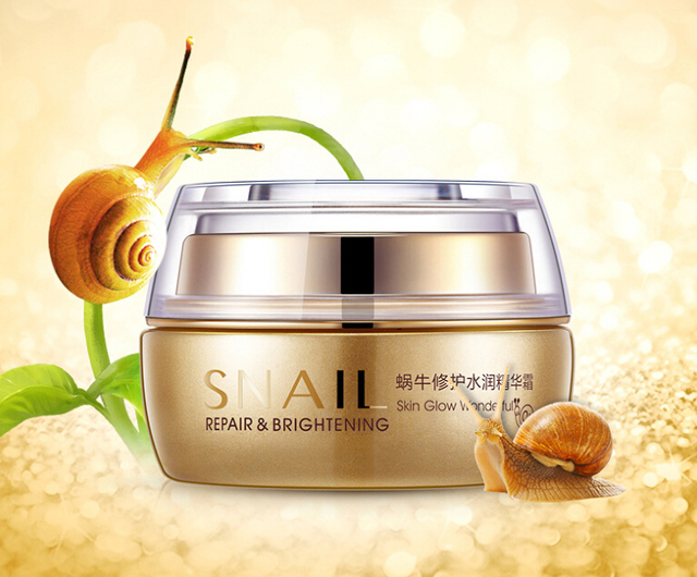 Snail Deep Moisturizing Face Cream Professional Brand Skin Care Hydrating Anti Wrinkle Anti-Aging Whitening Day Cream