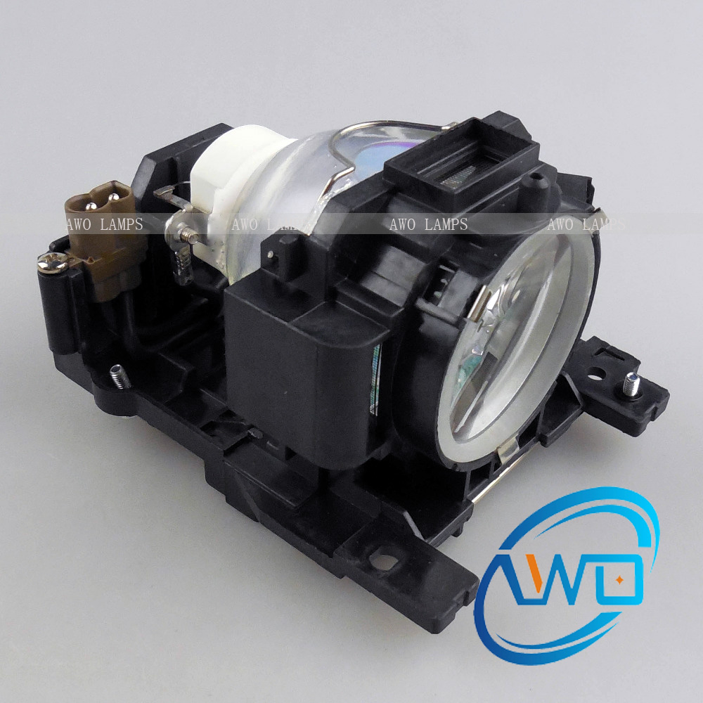 ФОТО AWO High Quality Projector Replacement Lamp DT00893 CPA52LAMPS with Housing for HITACHI ED-A10/ED-A101/ED-A111