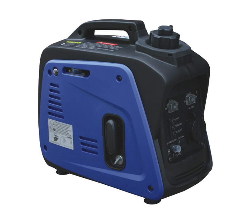800 w Portable Silent Camping Gasoline Power Inverter Generator Set