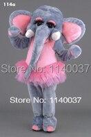 mascot Pink Ballerina Elephant mascot costume custom costume cosplay Cartoon Character carnival costume fancy Costume party