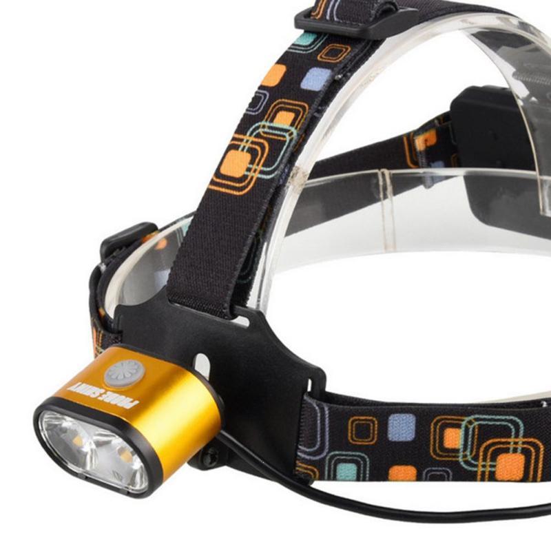 2 CREE led Headlamp T6 Q5 headlight 800lumens led head lamp camp hike emergency light fishing outdoor equipment linterna cabeza