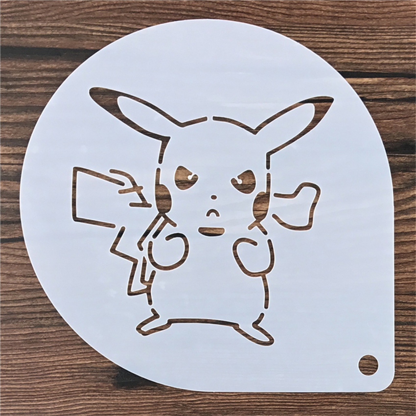 Schablone Wandmalerei 6 9 zoll pikachu tiramisu kuchen schablone
