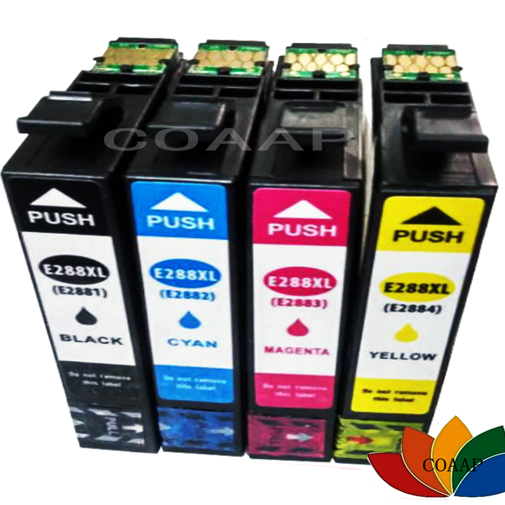 4x Compatible T2881 T2882 T2883 T2884 ink cartridge for EPSON 288XL Expression Home XP 430 330 434 440 Printer
