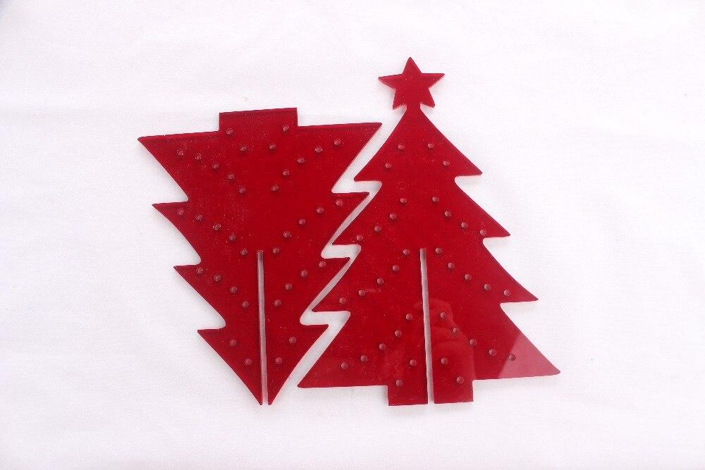 Acrylic christmas tree ornament christmassite