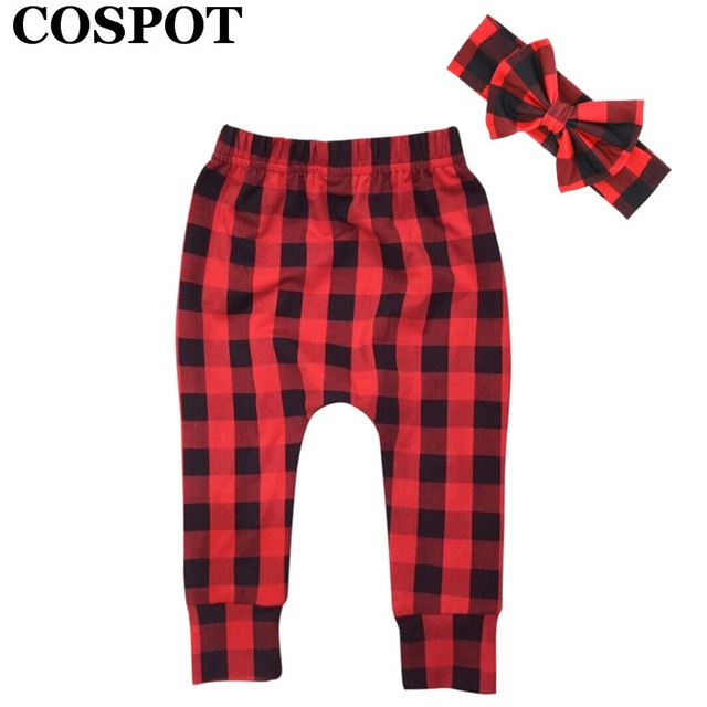 902348410459 COSPOT Baby Girls Boys Christmas Clothing Set Pants+Headband Hat ...