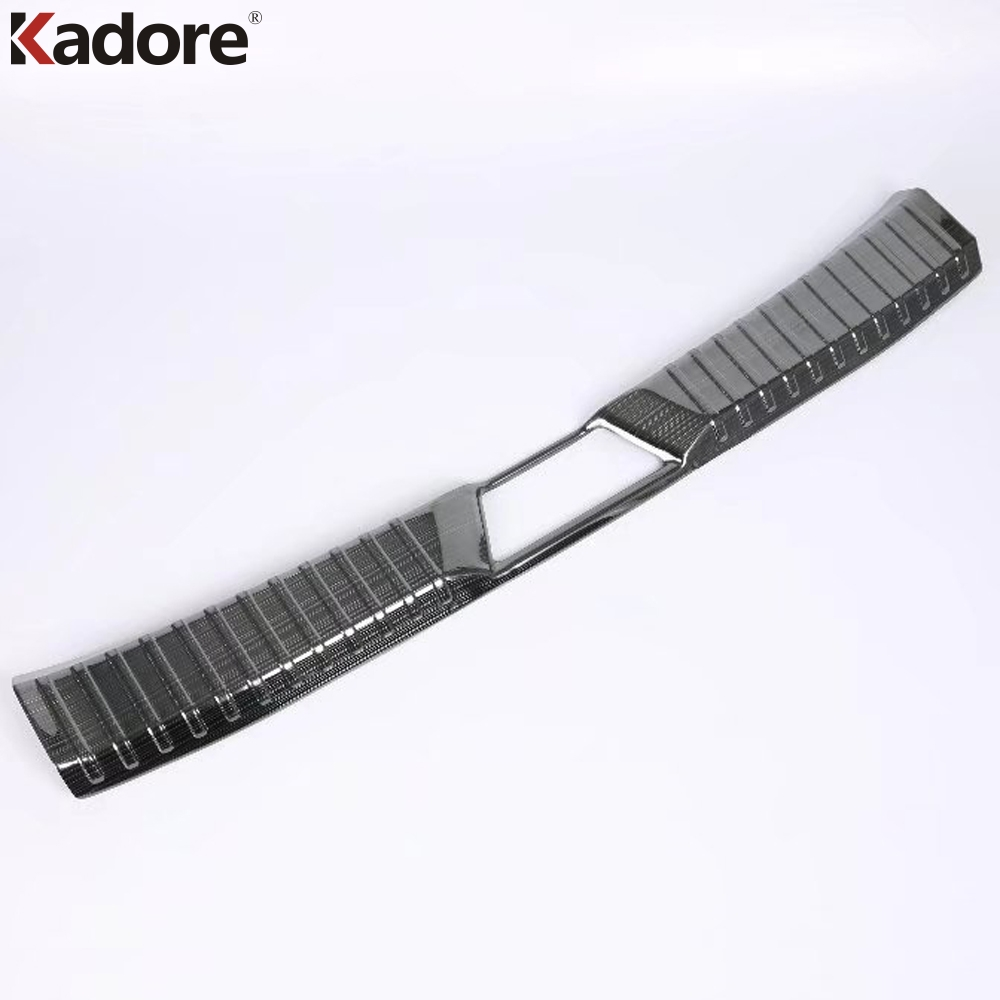 For Mazda CX-3 CX3 2015 2016 2017 2018 Rear Bumper Protector Car Boot Trim Rearguards Trunk Guard Sill Plate Scuff Cover Styling stainless steel interior rear bumper protector sill rear trunk scuff plate trim for peugeot 408 2014 2015 car styling accessory