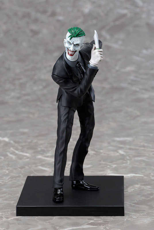 NOVO 1 pcs 19 CM pvc anime Japonês figura ARTFX DC COMIC the Joker action figure collectible modelo brinquedos brinquedos