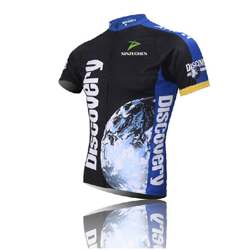 Discovery channel Men's 2016 Team Bicycle jersey Cycling clothing
