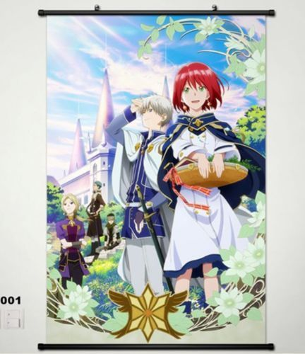 Snow White with the Red Hair Home Decor Anime Japan Poster Wall Scroll 002 Shira