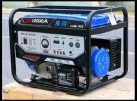 Бензиновый генератор бытовой небольшой мини 7000 Вт однофазный В 220 В трехфазный 380 В