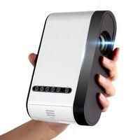 YEINDBOO Mini Projector 1080P 1800 Portable LCD LED Projector Home Cinema USB HDMI 3D Beamer Bass