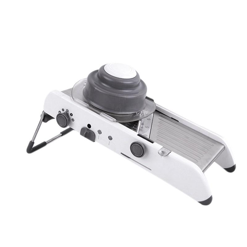 Manual Professional Grinder Stainless Steel Slicer Vegetable Kitchen Tool Multi-Function Adjustable Vegetable Cutting Machine