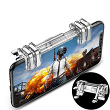 Metal PUBG Mobile Trigger Gamepad Gaming L1R1 Shooter Pubg Controller Smart Phone Fire Button Aim Key Joystick
