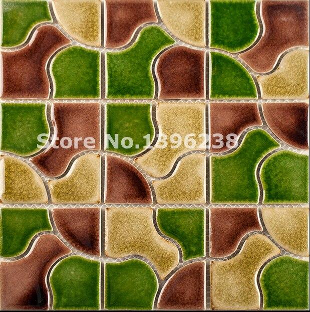 Glazed kitchen backsplash ceramic mosaic wall tiles,Hallway/TV/Kitchen/Bath shower home wall floor Art decor wall tiles,LSQHC07 art ceramic