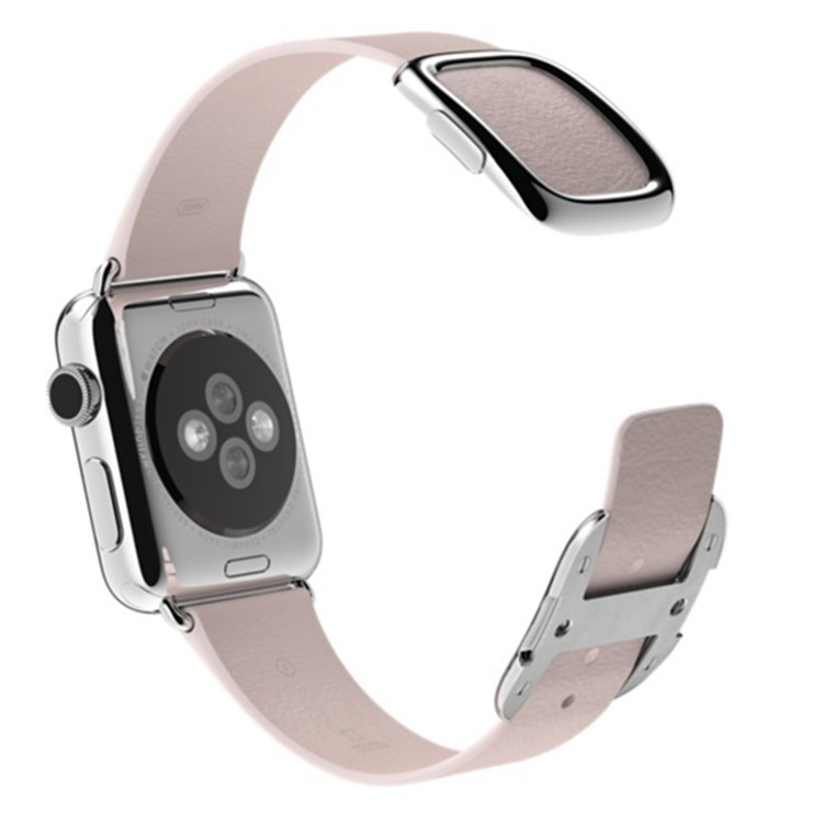 Blue-Black-Brown-Pink-Original-1-1-Modern-Buckle-Leather-band-for-Apple-Watch-band-38mm
