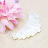 13parts Ladder Short Necklace white Natural Abalone seashell sea shell Beads Pendent diy Design making jewelry women girls gifts
