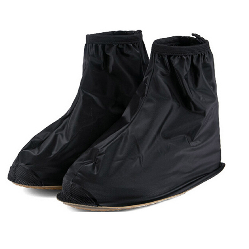 Waterproof Rain Shoes Cover Cycle Rain Boots Covers Flat Slip-resistant Overshoes Rain Gear Shoes Protector OR673339